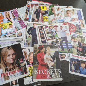 The Royals Prince Harry Kate Will Magazine Covers